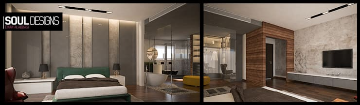 modern Bedroom by Soul Designs