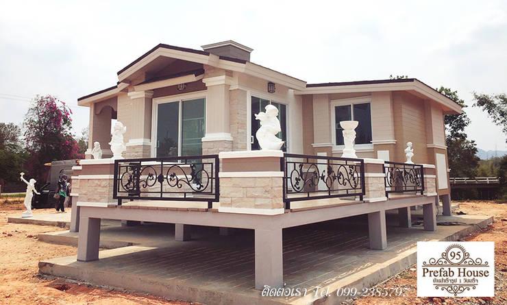 GRAND ITALY 110 ตร.ม.:   by Prefab House 95