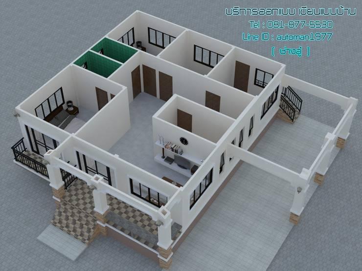 ผลงาน:   by แบบบ้านสวย ราคาประหยัด บริการออกแบบเขียนแบบ