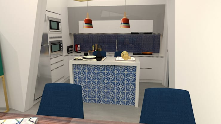 Kitchen Douro Boutique: Cozinhas  por No Place Like Home ®