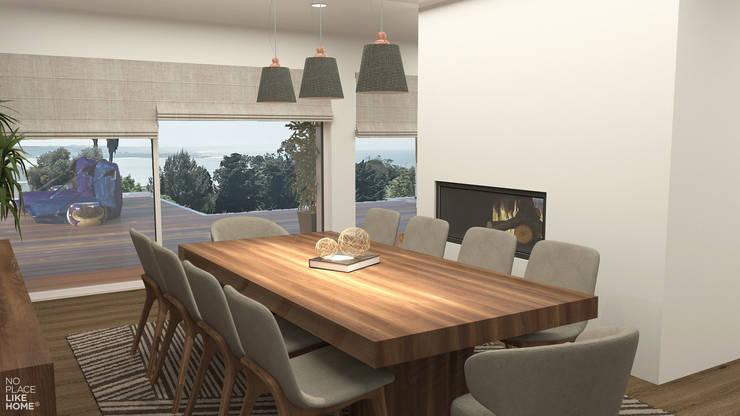 Dining room: Salas de jantar  por No Place Like Home ®