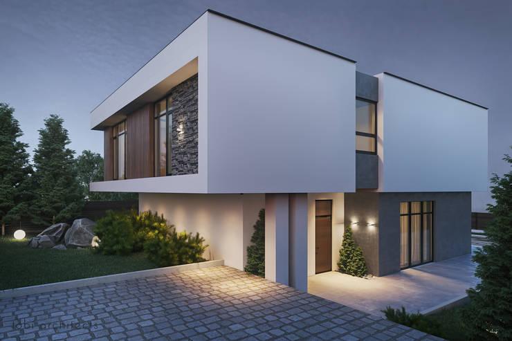 :  Häuser von Tobi Architects,Minimalistisch