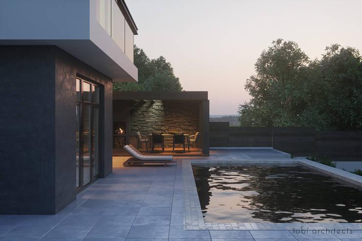 :  Pool von Tobi Architects,Minimalistisch