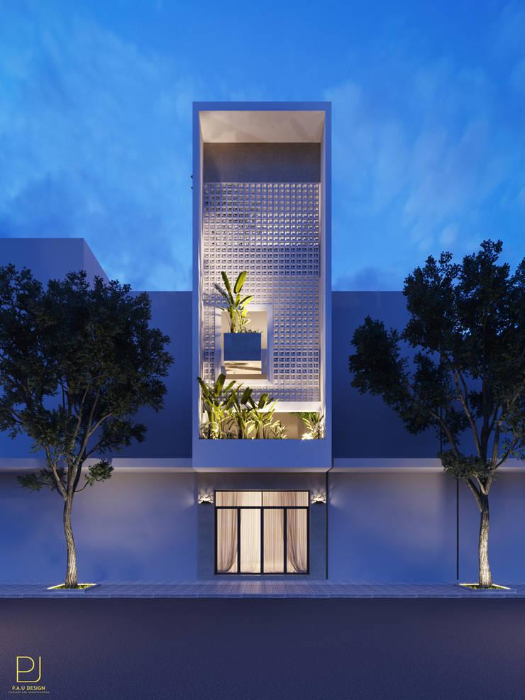 NHÀ PHỐ PLEIKU:  Nhà by P.A.U Design
