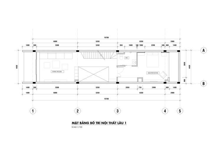 NHÀ PHỐ PLEIKU:   by P.A.U Design