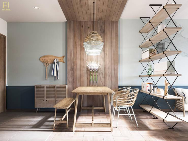 4S RIVERSIDE APARTMENT:  Phòng ăn by P.A.U Design