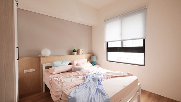 台中陳公館:  嬰兒房/兒童房 by 築本國際設計有限公司