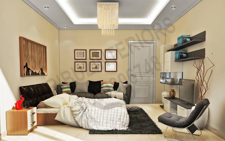 現代  by Tribuz Interiors Pvt. Ltd., 現代風