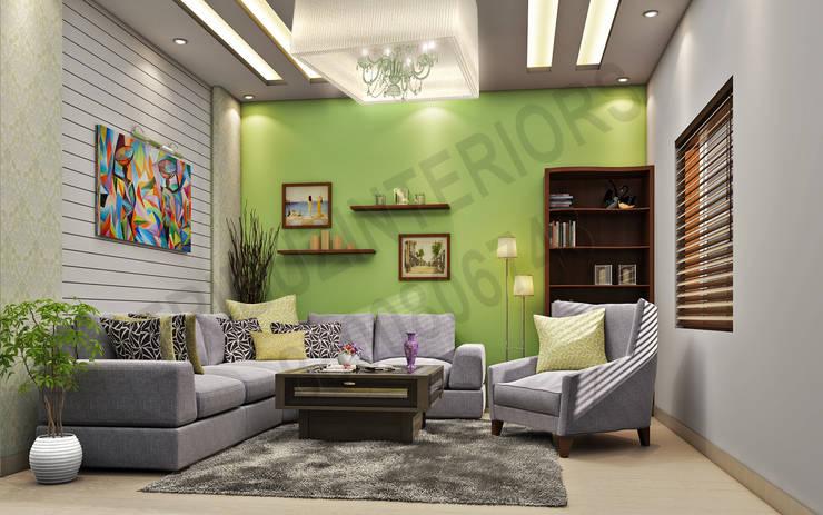 Apartment:   by Tribuz Interiors Pvt. Ltd.