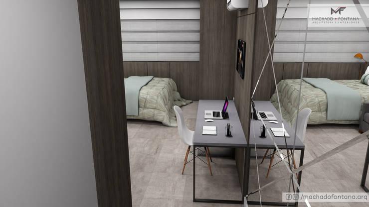 Studio: Quartos  por Machado Fontana | Arquitetura e Interiores