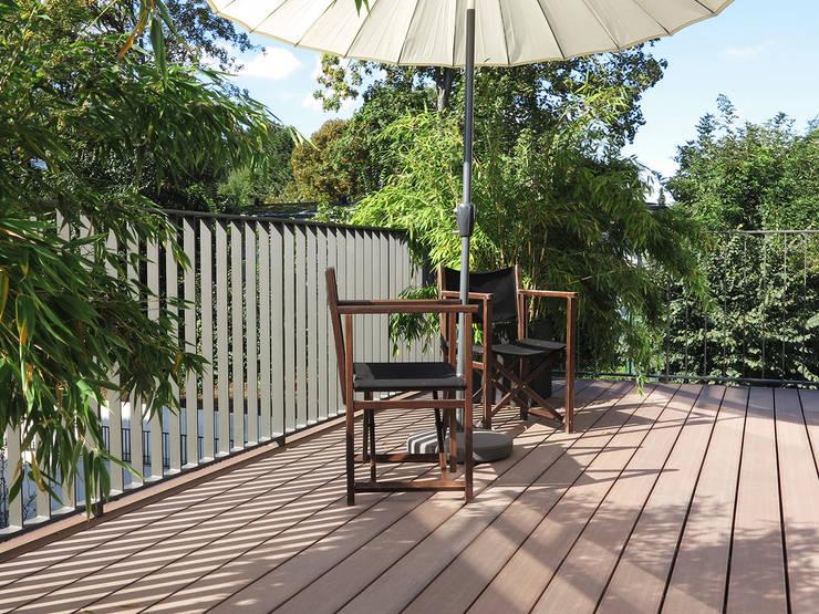Balkon Mit Wetterfesten Und Bildschonen Wpc Dielen Von Mydeck Gmbh