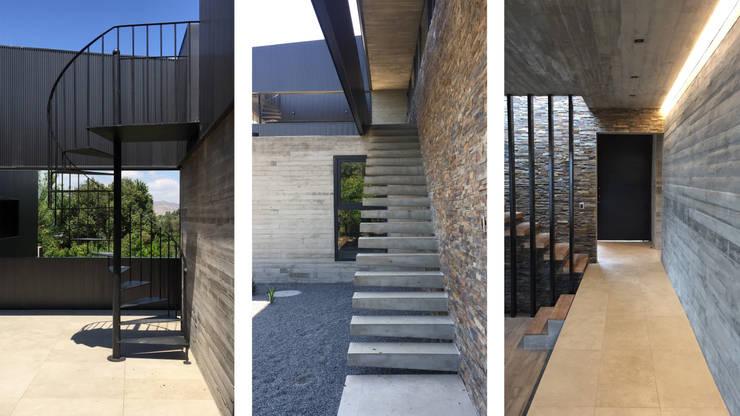 Casa DLP: Escaleras de estilo  por 2712 / asociados