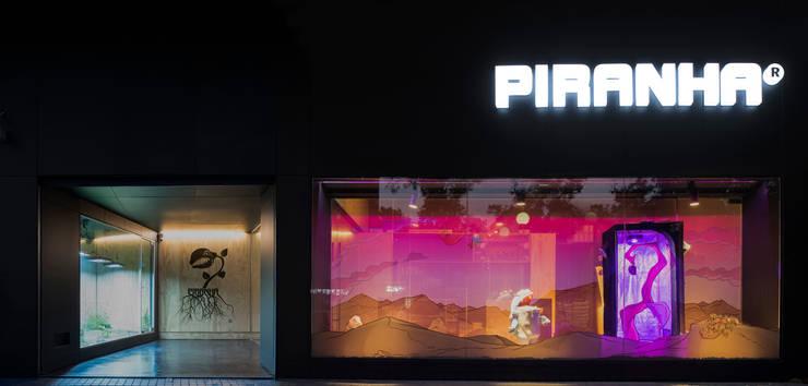 Piranha Growshop: Espacios comerciales de estilo  por 2712 / asociados