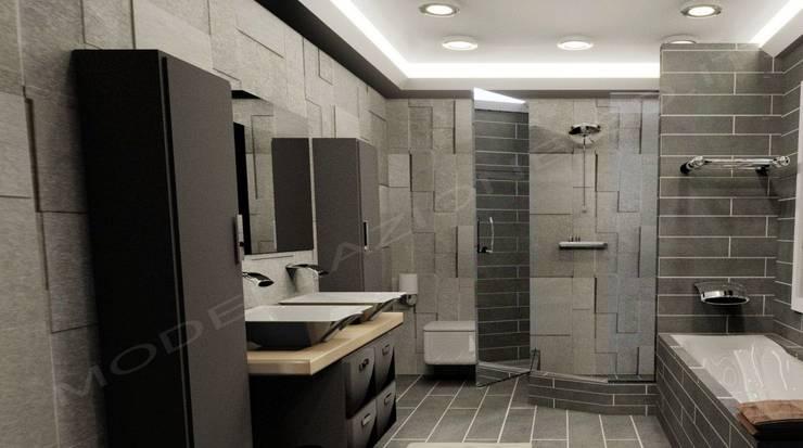 Modellazione e rendering ambienti interni bagno moderno von