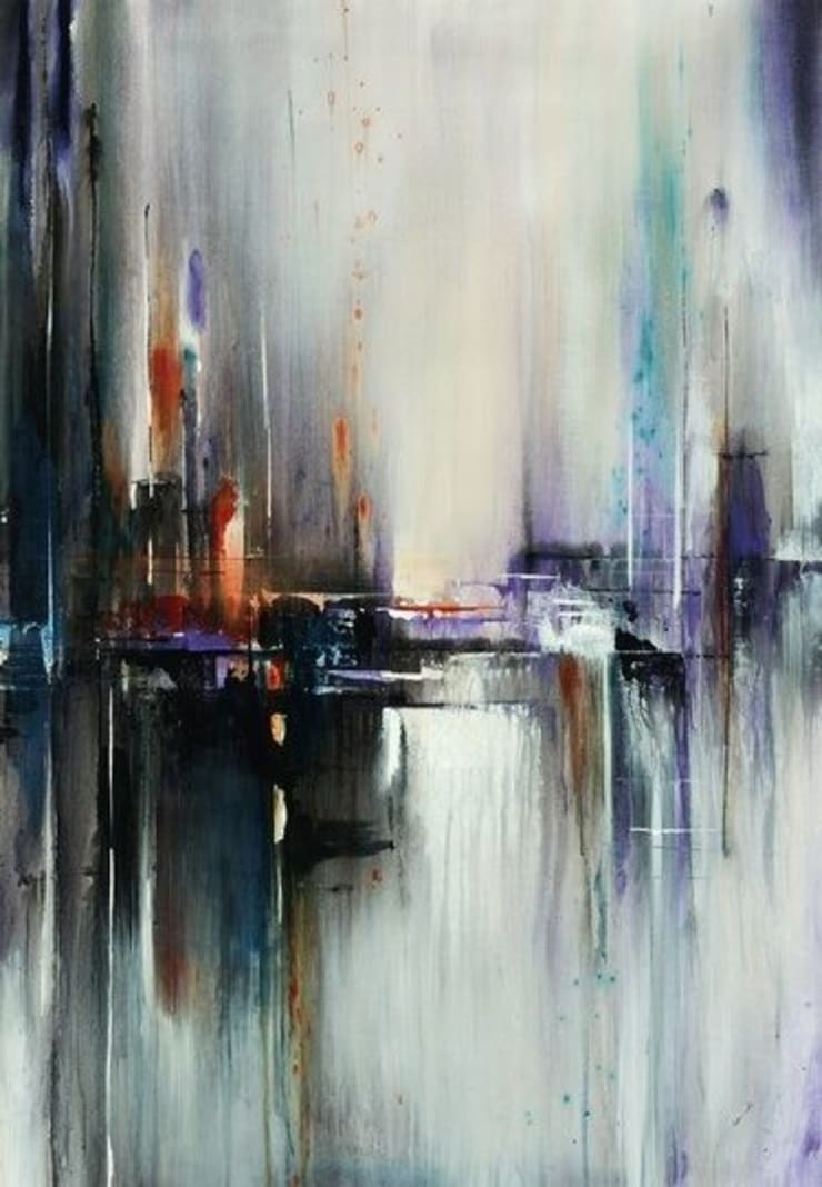 Pinturas al Oleo : Salas de estilo  por Galeria Marqueteria ARTE & MARKO, Moderno