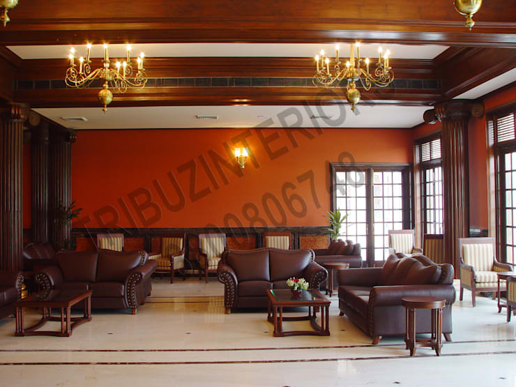Club:  Bars & clubs by Tribuz Interiors Pvt. Ltd.