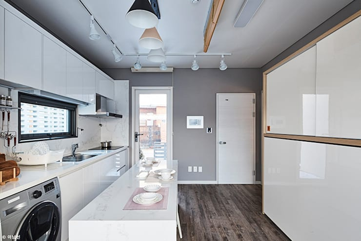 مطبخ تنفيذ 단감 건축사사무소