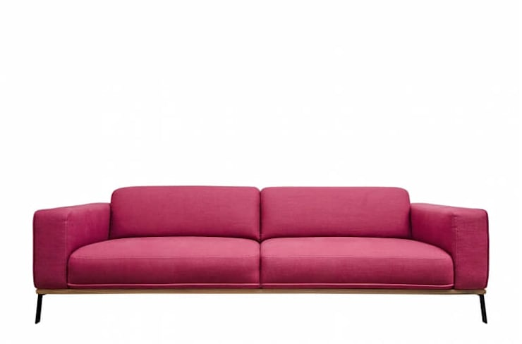 Bea Modernes Stoff Sofa 3 Sitzer By Matz Mobel Homify