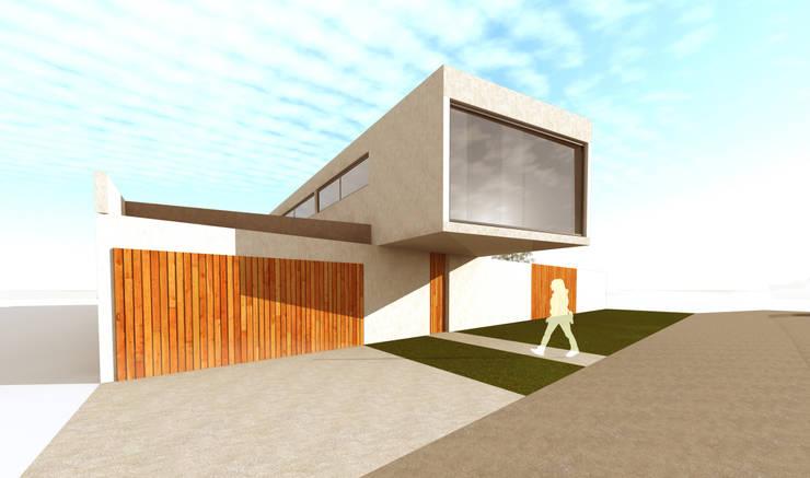 Acceso principal: Casas de estilo  por artefacto arquitectura