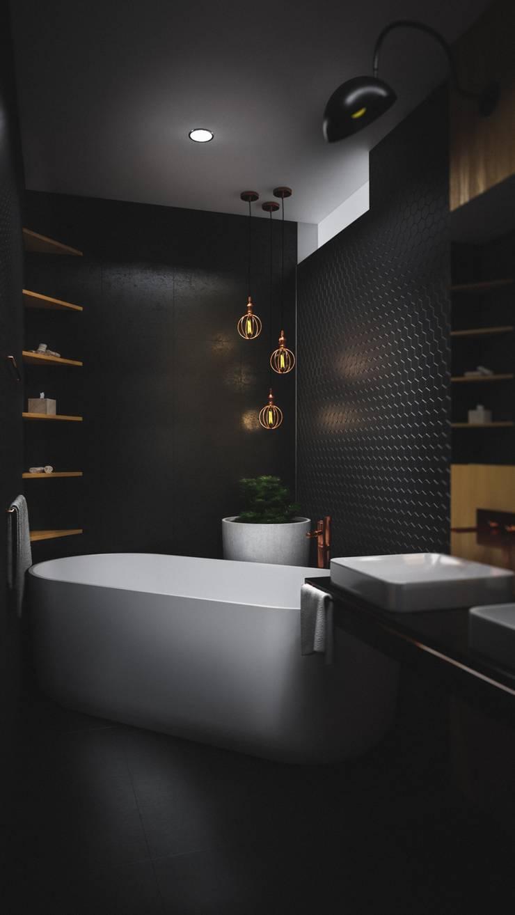 BAÑO CASA VEGA : Baños de estilo  por Adrede Diseño