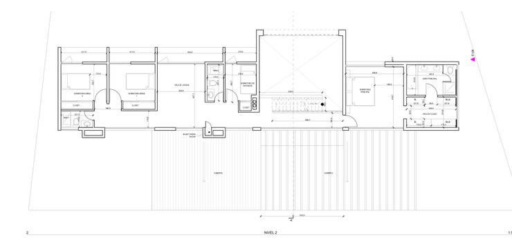 PLANTA ARQUITECTURA NIVEL 2:  de estilo  por artefacto arquitectura