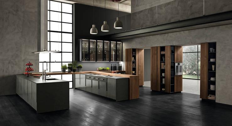 Projekty,  Kuchnia zaprojektowane przez BINOVA MILANO