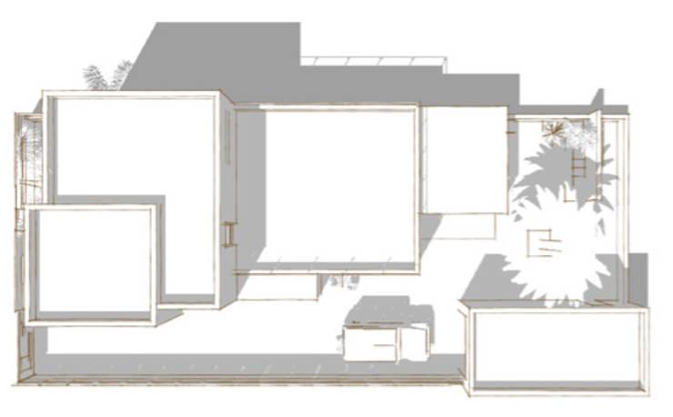 projeto.planta cobertura:   por Teresa Ledo, arquiteta