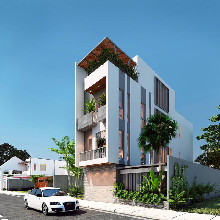 Maisons modernes par AT Design Moderne