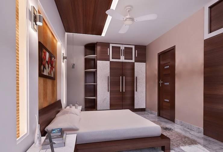 Bedroom Design:   by RID INTERIORS