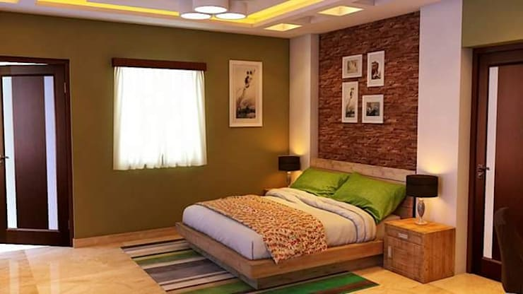 Guestroom:   by RID INTERIORS