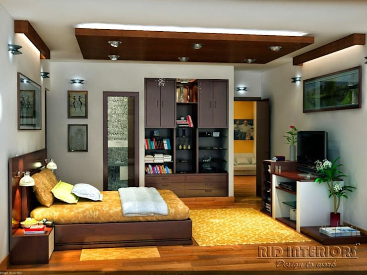Bedroom :   by RID INTERIORS