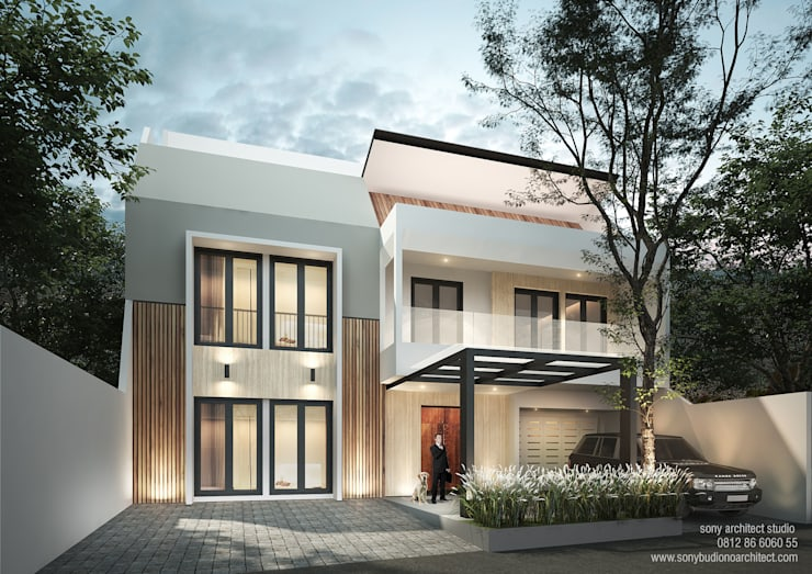 Angela Puri:  Rumah by sony architect studio