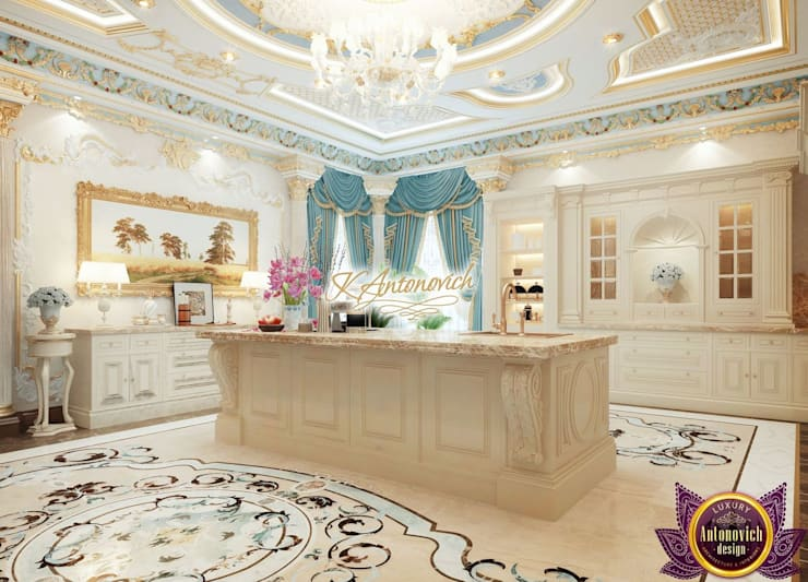 ​Kitchen decoration ideas of Katrina Antonovich:  Kitchen by Luxury Antonovich Design