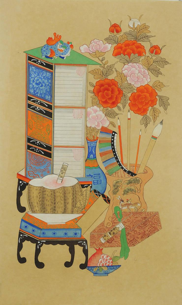 책거리: 사)한국전통민화연구소의  가정 용품