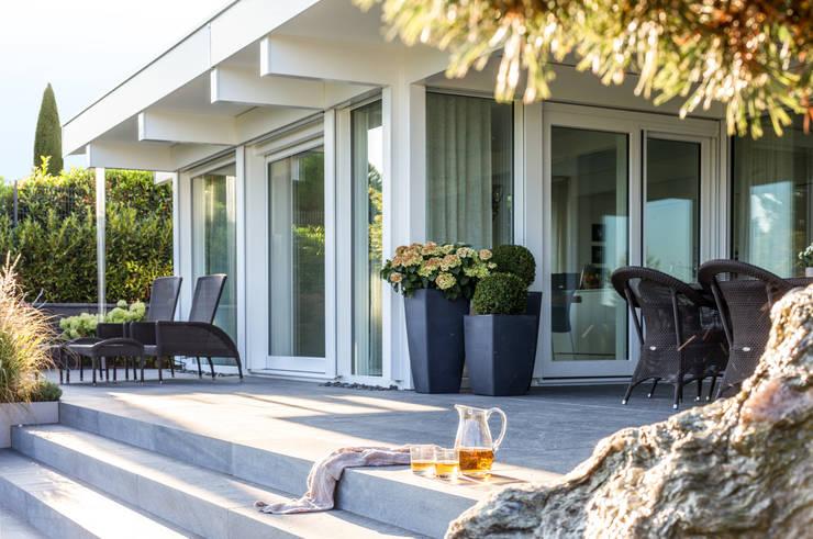 Projekty,  Domy zaprojektowane przez DAVINCI HAUS GmbH & Co. KG
