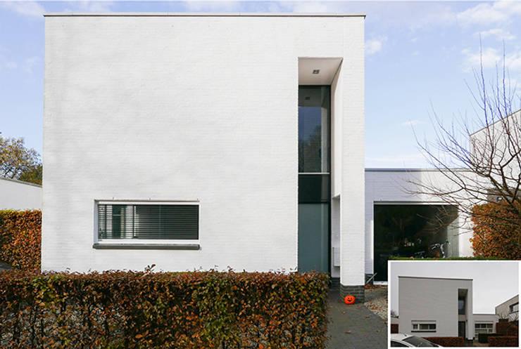 Projekty,  Domy zaprojektowane przez KleurInKleur interieur & architectuur