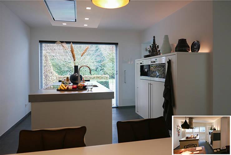 Projekty,  Kuchnia zaprojektowane przez KleurInKleur interieur & architectuur
