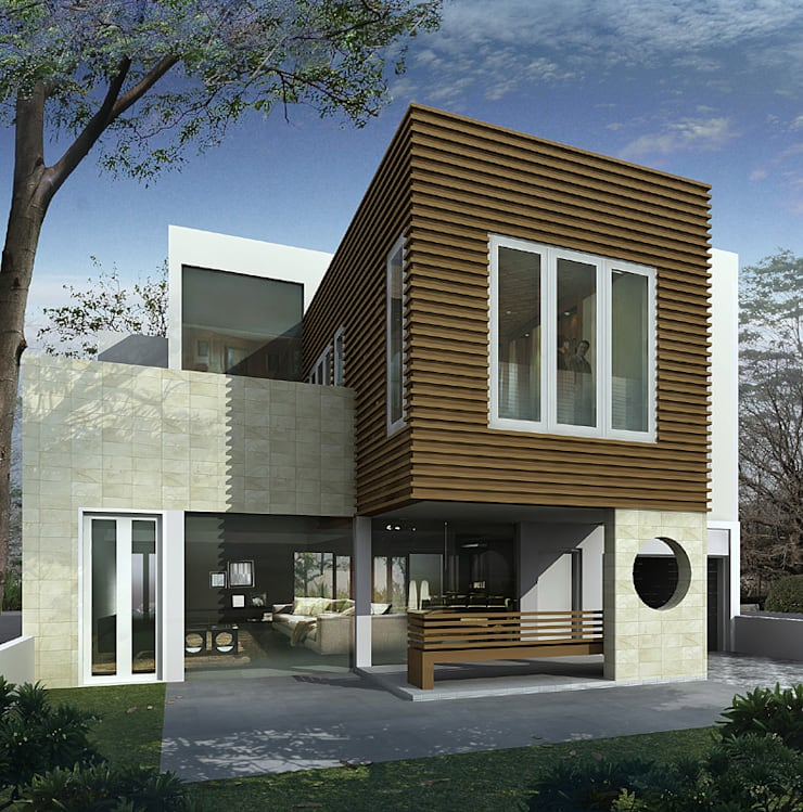 BENGKULU SMALL HOUSE:  Rumah by sony architect studio