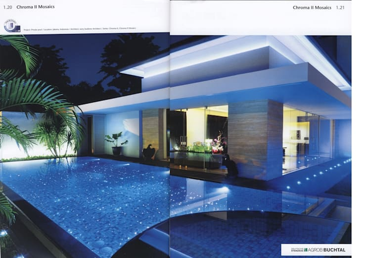 BUCTHAL GERMANY MENDUT:  Kolam Renang by sony architect studio