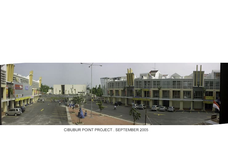 CIBUBUR POINT:  Rumah by sony architect studio