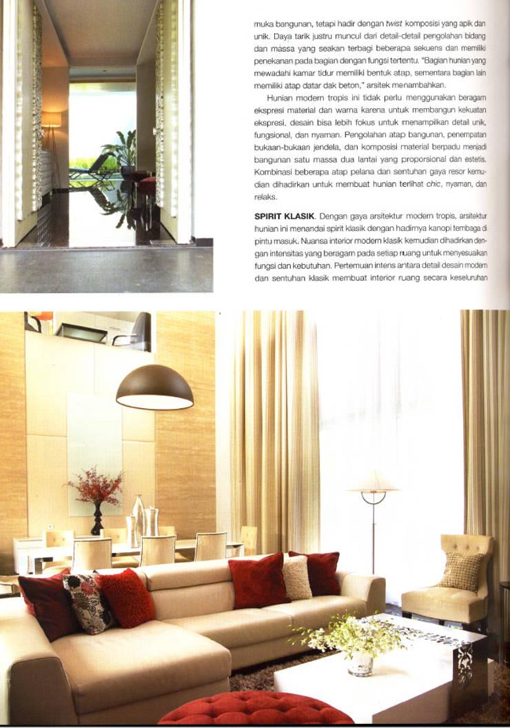 CINERE AT MAJALAH LARAS:  Ruang Keluarga by sony architect studio