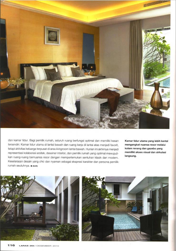 CINERE AT MAJALAH LARAS:  Kamar Tidur by sony architect studio