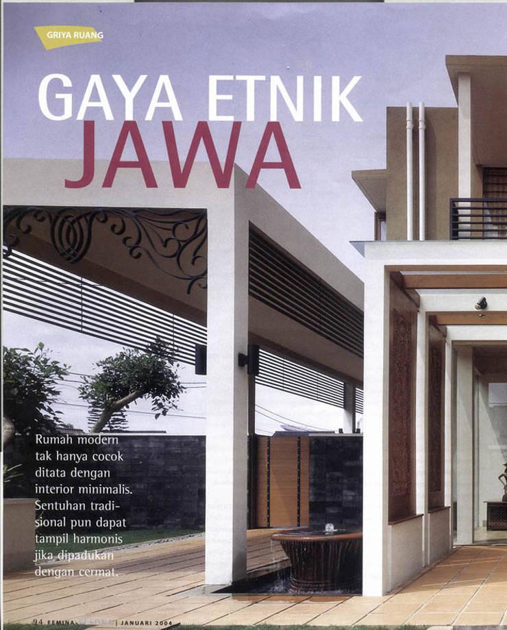 Edificios de oficinas de estilo  por sony architect studio, Moderno