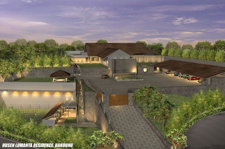 HUSEN LUMANTA ,BANDUNG:  Rumah by sony architect studio