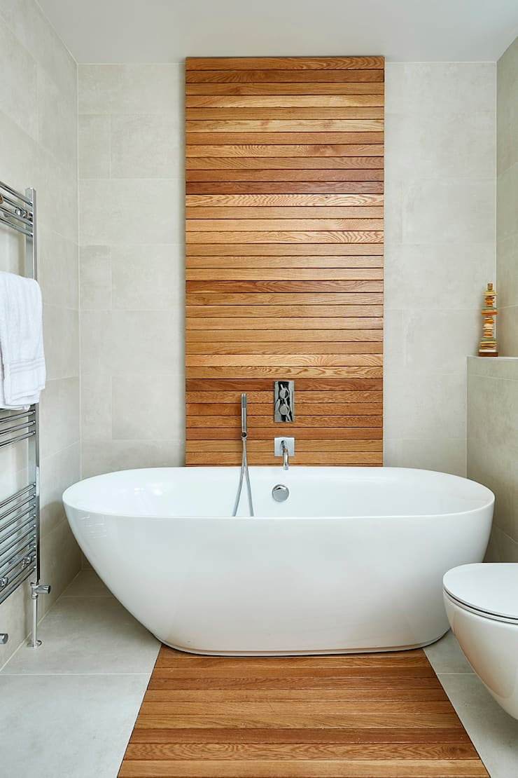 Highgate Home Refurbishment Modern bathroom by Patience Designs Modern