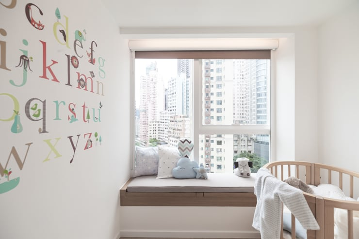 Cherry Crest:  Nursery/kid's room by Clifton Leung Design Workshop