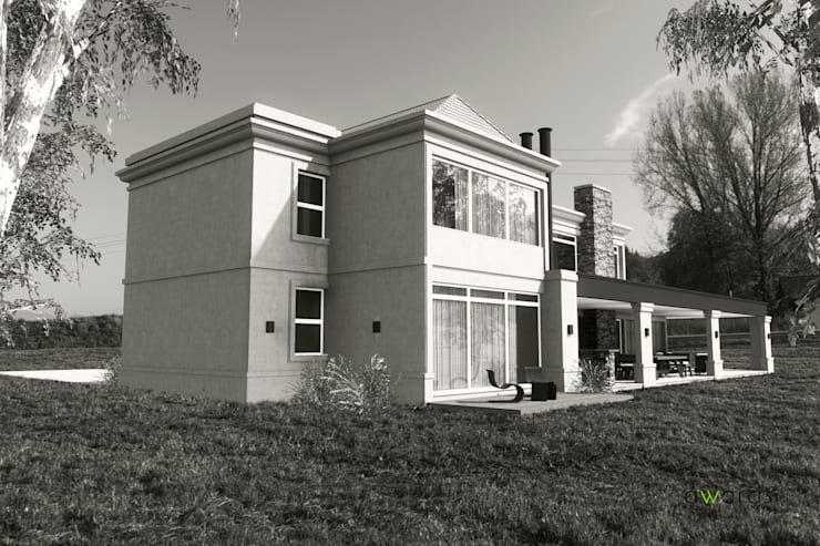 Houses by áwaras arquitectos, Classic