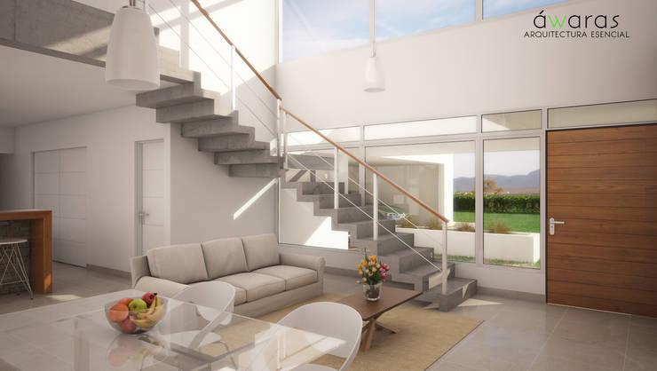 Stairs by áwaras arquitectos, Modern