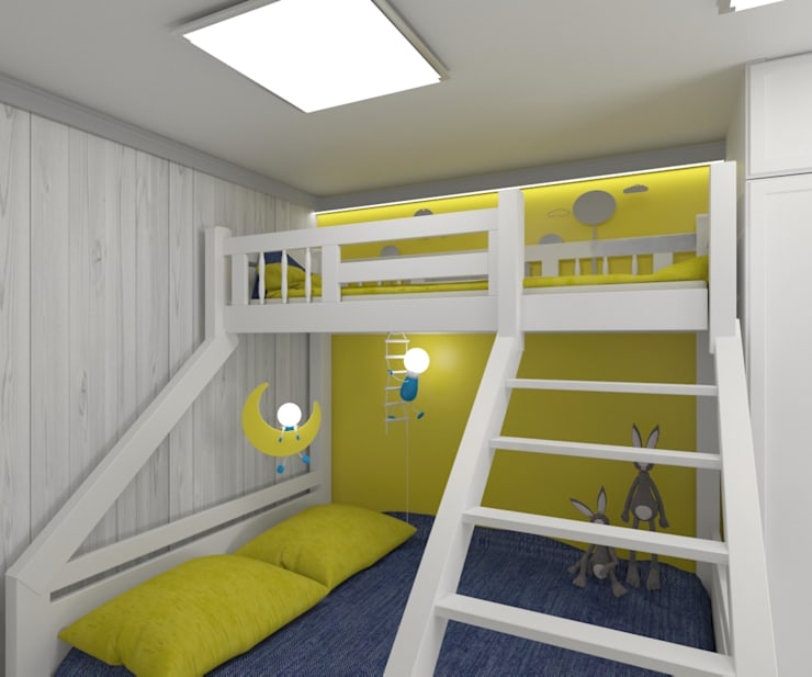 Teen bedroom by lux.Plus