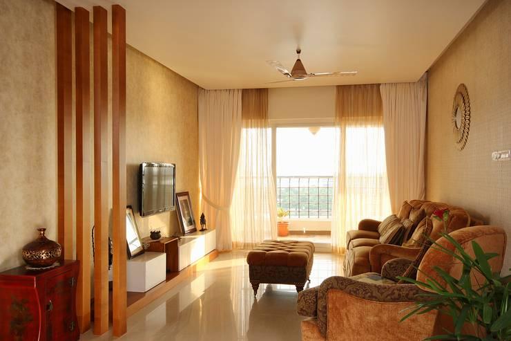 غرفة المعيشة تنفيذ Studio Nirvana